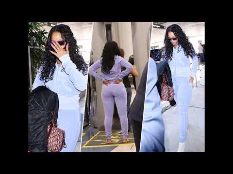 Photos : Rihanna : En forme, elle fait sensation à l'aéroport de Los Angeles