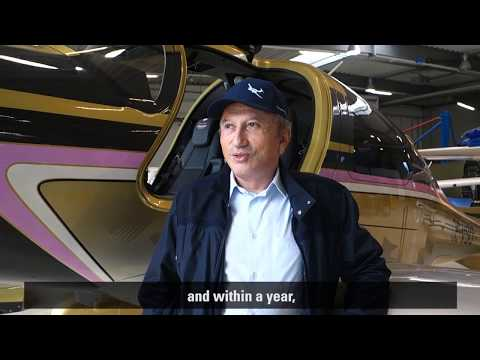 Diamond Aircraft DA62 owner Michel Drucker about his new bird