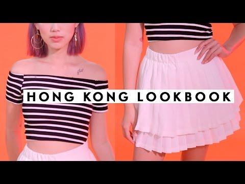WHAT I GOT IN HONG KONG LOOKBOOK