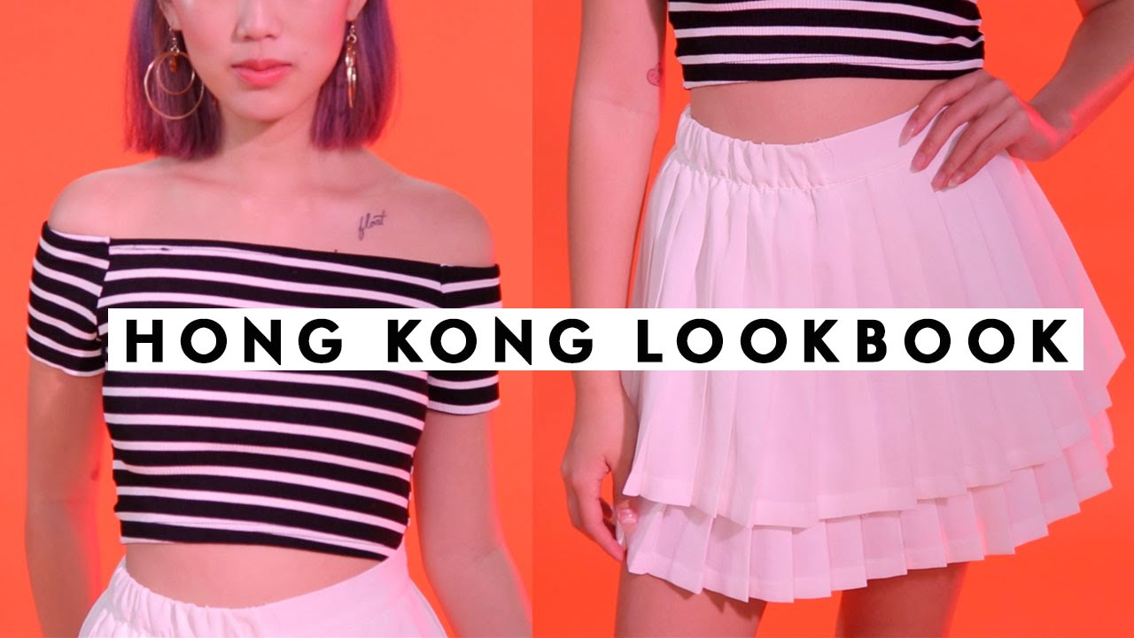 WHAT I GOT IN HONG KONG LOOKBOOK