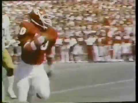 Billy Sims clips from 1978