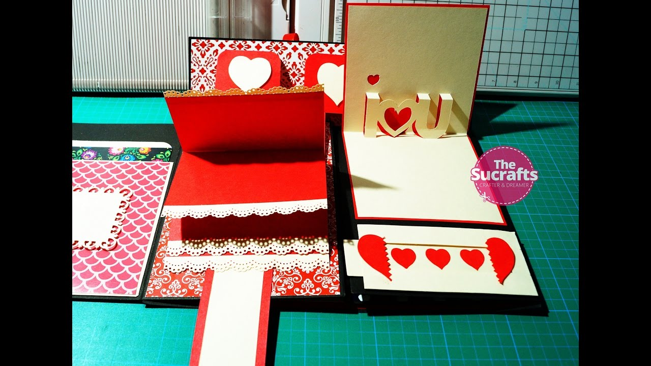 Folding Scrapbook 2 How To Make Folding Scrapbook The