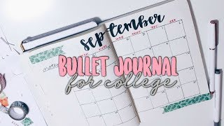 Bullet Journal - Planning For College! | Reese Regan