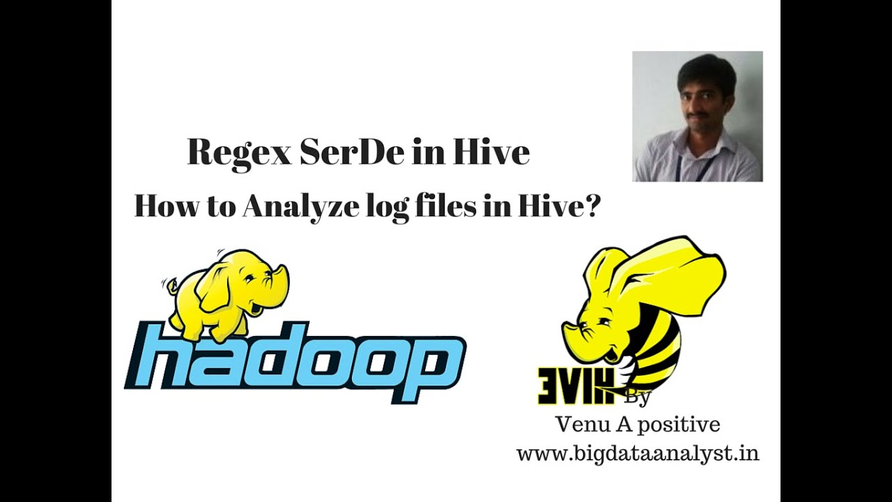 How to analyze log files in Hive | Regex SerDe in Hive