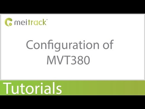 Configuration of MVT380 Meitrack GPS Tracker - YouTube
