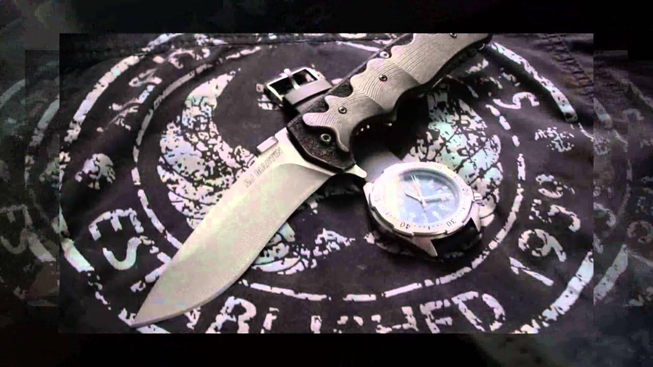 Нож Зной (сталь 110Х18МШД) Крутов В. - YouTube