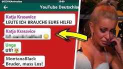 KATJA KRASAVICE BRAUCHT HILFE! | YouTuber in einer WhatsApp Gruppe