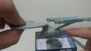 Star Trek en Esperanto – malgranda miniaturo de USS Enterprise Eaglemoss