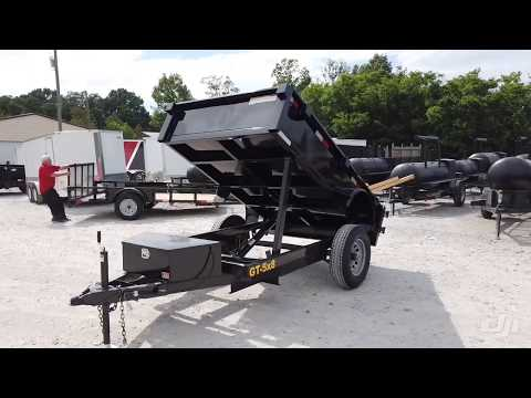 SLE Equipment 5x8 Hydraulic Dump Trailer With 18