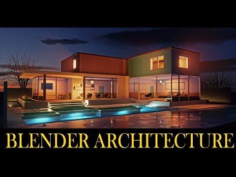 Blender 2.8 Architecture Workflow