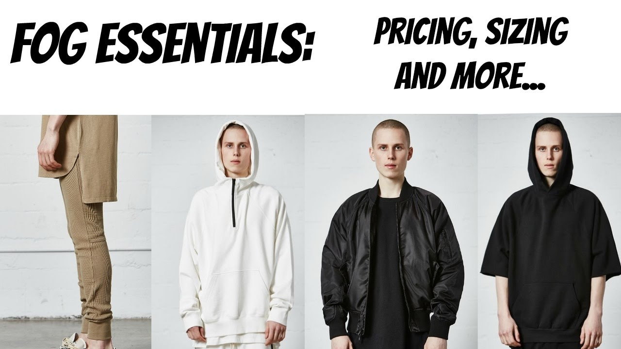 Fear Of God Fog Essentials Prices Sizing And More Youtube