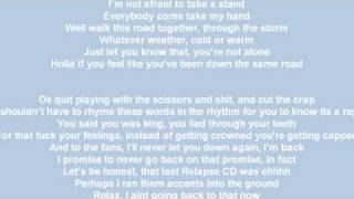 eminem instrumental not afraid recovery lyrics