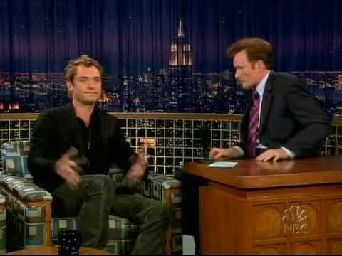 Conan O'Brien 'Jude Law 102104