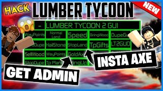 ✔️NEW✔️ROBLOX HACK - LUMBER TYCOON GUI - UNLIMITED MONEY, SELL WOOD AND MORE