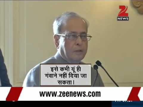 Ignore provocative politicians, listen to Pranab Mukherjee: Narendra Modi