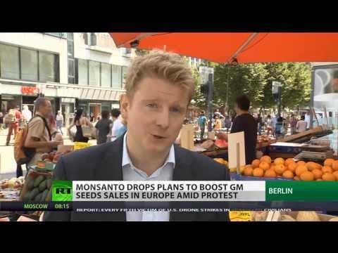 "EU slams door on GM food amid protests "" MONSANTO GO HOME"""