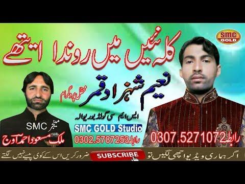 Naeem Shahzad Qamar Kallah Naie Main Ronda Ethy New Punjabi Latest Song HD 2019