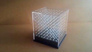 jolliCube - 8x8x8 LED Cube Assembly Part 2