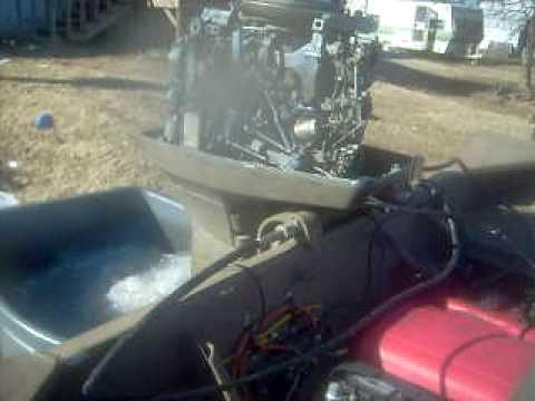 1973 Evinrude 65 hp Outboard Motor