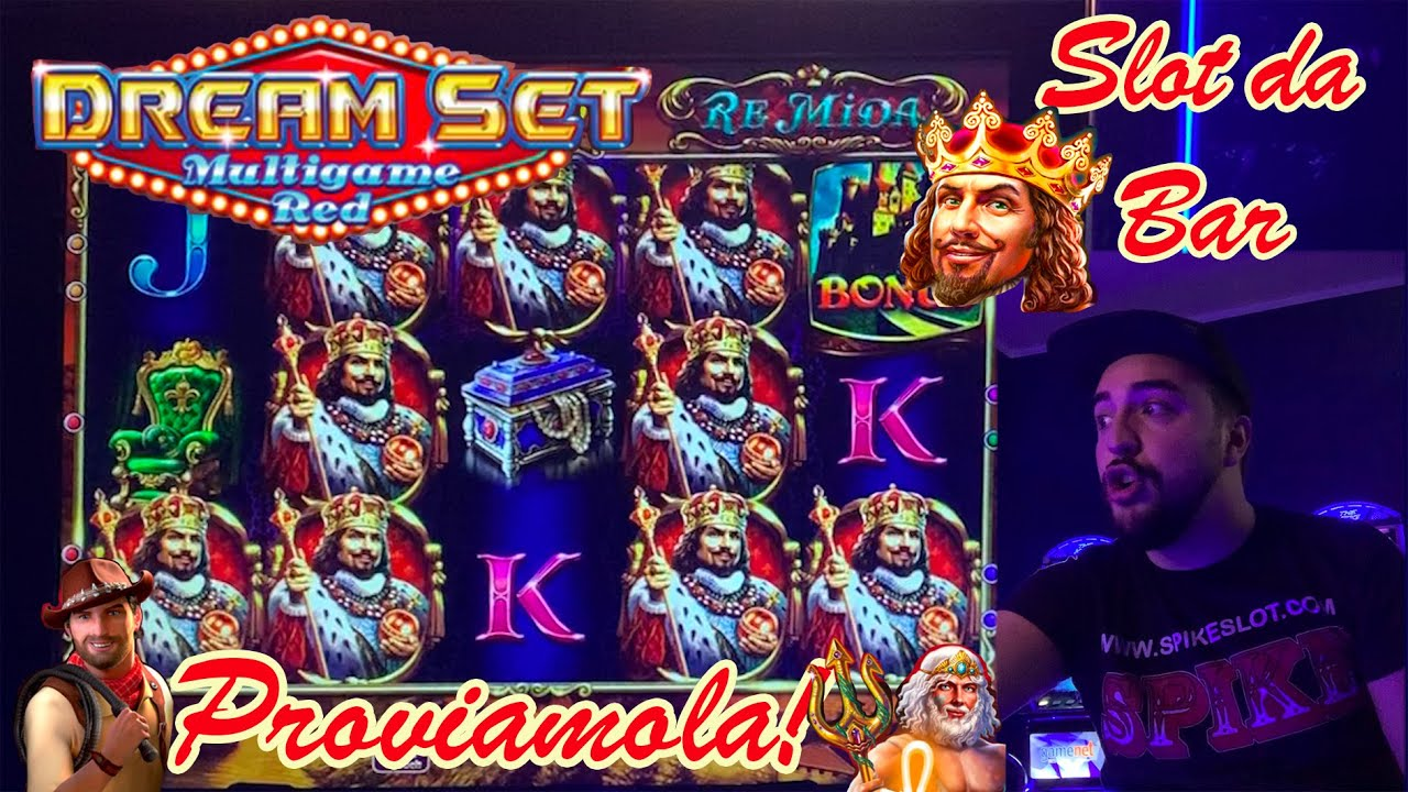 SLOT MACHINE da BAR - Proviamo la DREAM SET RED???????? (Multigioco Octavian con RE MIDA????)