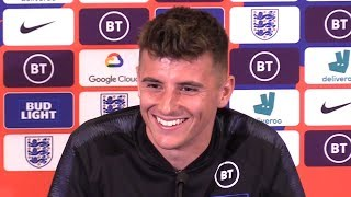 Mason Mount Pre-Match Press Conference - England v Bulgaria - Euro 2020 Qualifiers - Embargo Extras