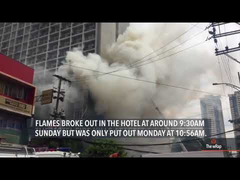 Fire out at Manila Pavilion after 25 hours