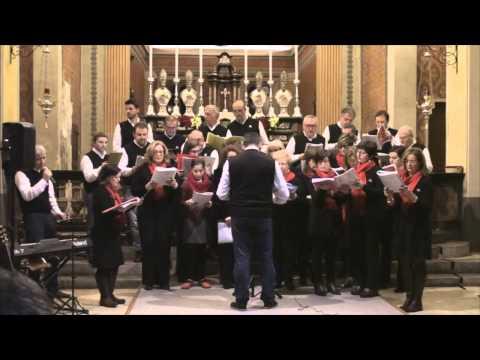 Coro Tre Ponti - Gloria in exclesis Deo - Mercurago 23 dicembre 2014