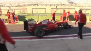 Michael Lewis tests F1 Ferrari in Vallelunga, Italy!
