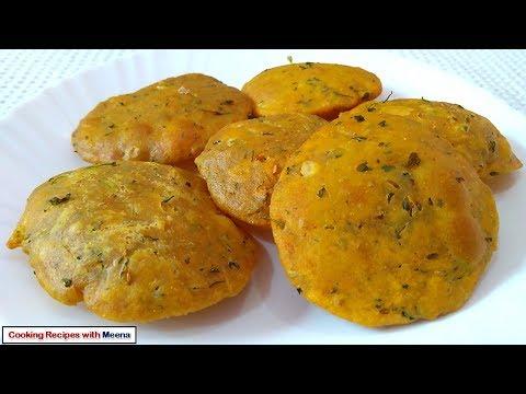 मसाला पूरी रेसिपी - Masala Puri - How to make Masala Puri - Special Puri Recipe