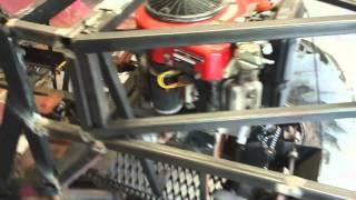 homemade 4x4 utv aka spare change body framing front fenders and new shop