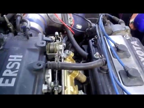 Регулировка Датчика положения Дроссельной заслонки на Toyota Starlet Glanza V AT