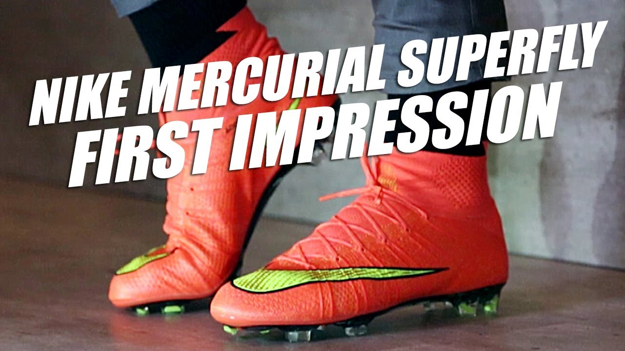 Príncipe exposición combustible  Nike Mercurial Superfly IV 2014 Hands-on and First Impression - YouTube