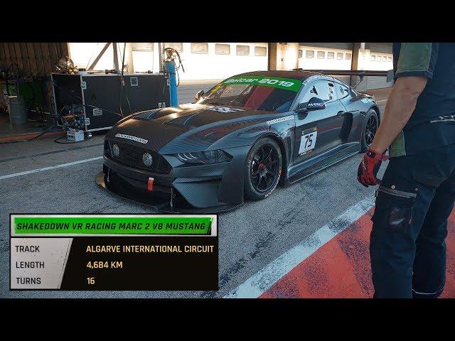 Shakedown VR Racing MARC 2 V8 Mustang - Algarve International Circuit
