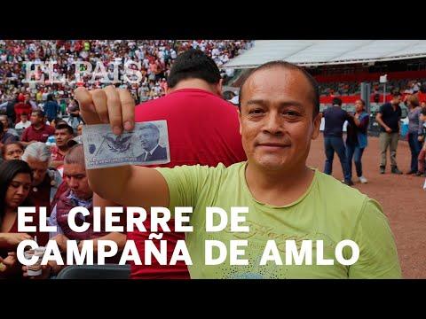 Cierre de campaña de Andrés Manuel López Obrador