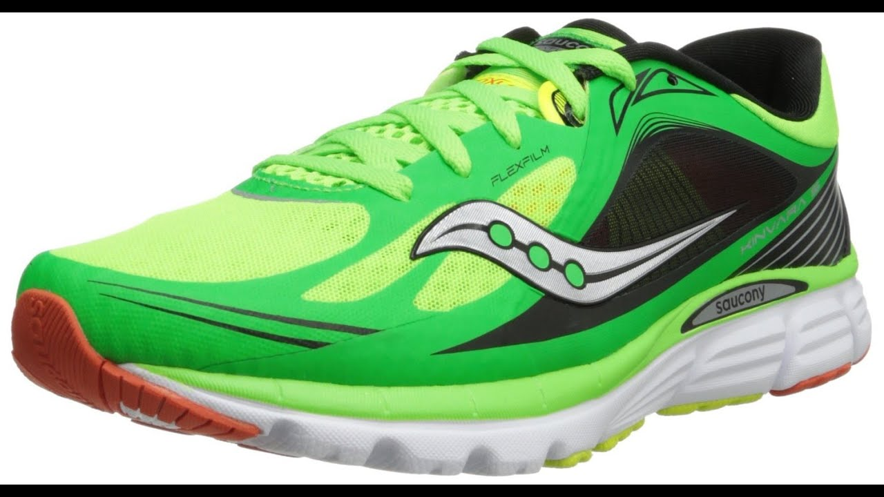 saucony kinvara 5 - best running shoes for men - youtube