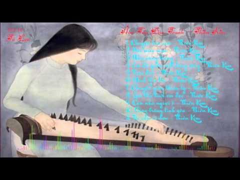 Hòa Tấu Đàn Tranh - Thiên Kim - nhạc không lời nhẹ nhàng và hay nhất 2015