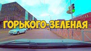 Калининград, улица Горького, Зеленая, дома, школы, дороги, дворы
