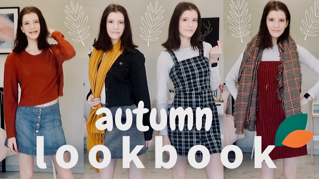 [VIDEO] - Soft Autumn Lookbook Capsule Wardrobe for Fall // Holcee 8