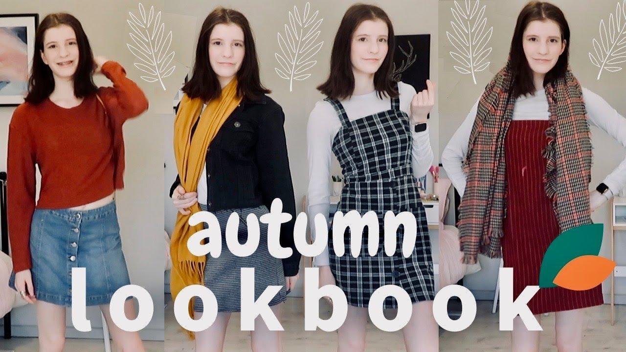 [VIDEO] - Soft Autumn Lookbook Capsule Wardrobe for Fall // Holcee 1