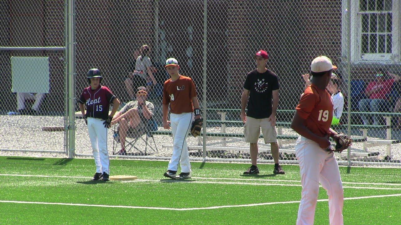 New York Heat 13u Vs Baseball U At The Yard Frozen Ropes