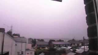 FujiFilm S4800 - Awesome Thunder Storm - Kent, UK