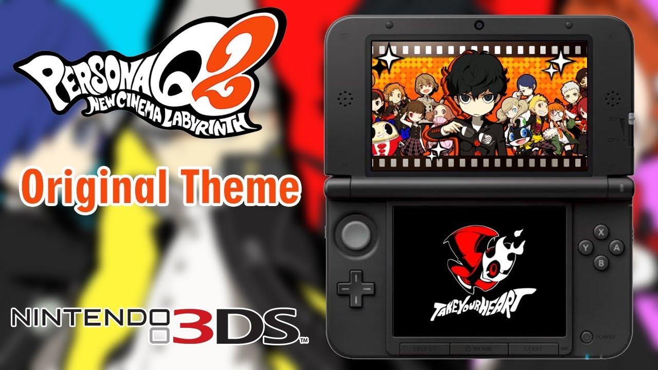 3DS Theme - Persona Q2 Original Theme
