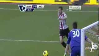 Sunderland 1 - 0 Manchester City (All Goals & Highlights 10/11/2013)