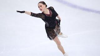 Загитова тренируется в парном катании в ледовом шоу Навки Видео
