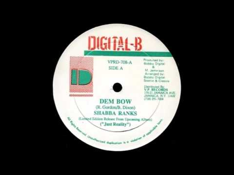 Shabba Ranks - Dem Bow (Vinyl Side A)
