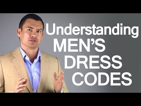 Men's Dress Codes | Social DressCodes for Men | Business Clothing Code | Casual Dress-Code