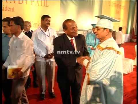 Social reformer Appasaheb Dharmadhikari conferred with honorary doctorate