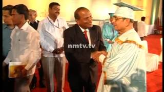 Social reformer Appasaheb Dharmadhikari conferred with honorary doctorate