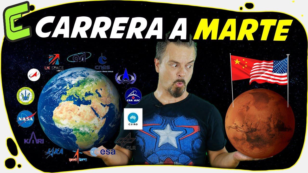 🚀 La Carrera Espacial a Marte (USA, China, Emiratos Árabes...)