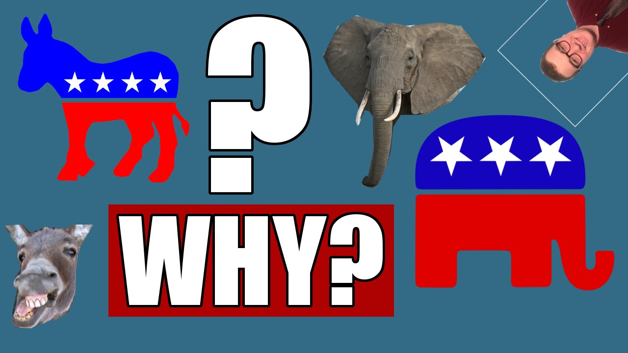 Donkey Elephant History Of The Political Party Symbols Youtube